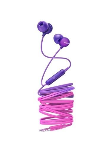 Philips Philips Upbeat SHE2405PP Kulakiçi Mikrofonlu Kulaklık Pembe Renkli